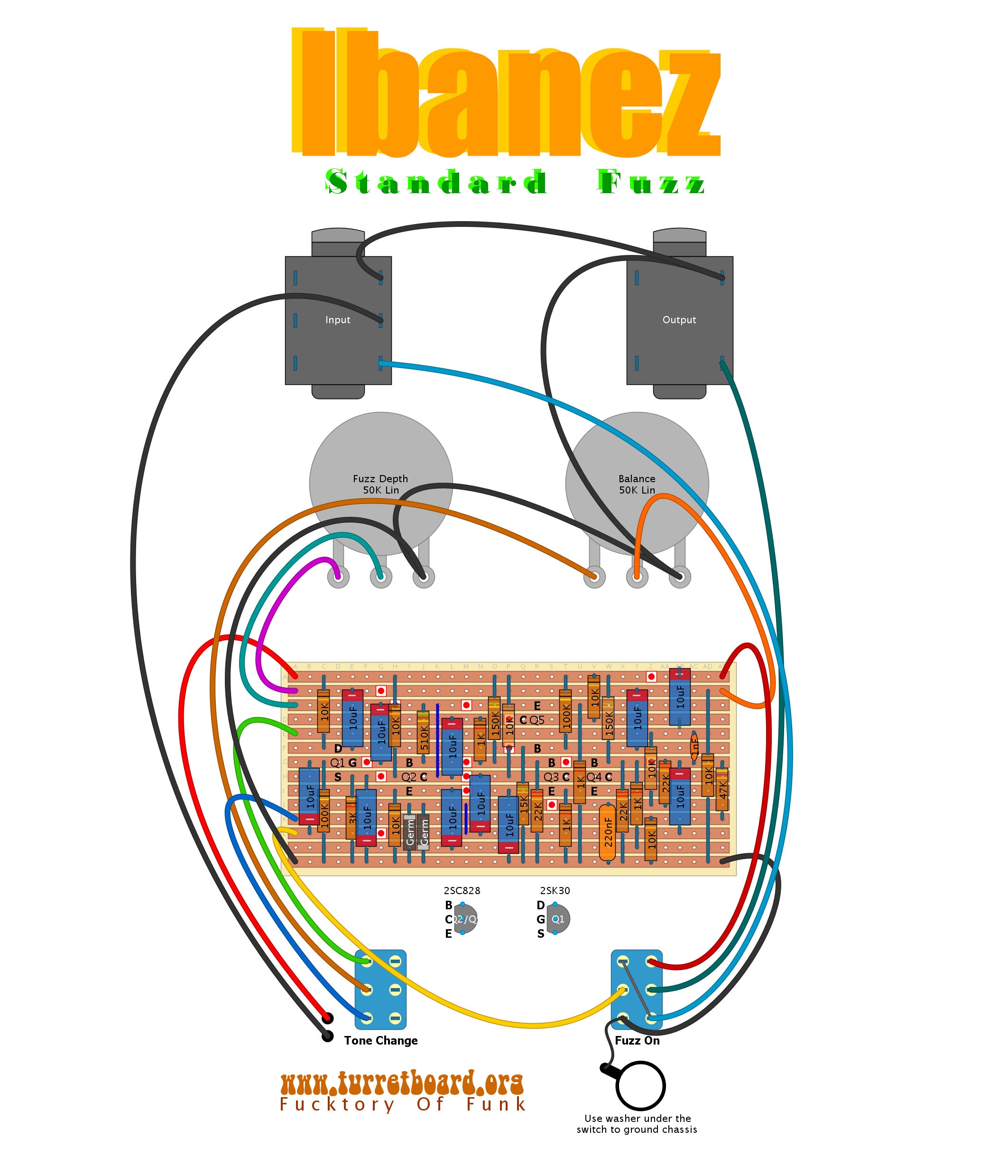 ibzstrdfzz fuzz turretboard org fuzz face wiring diagram at webbmarketing.co