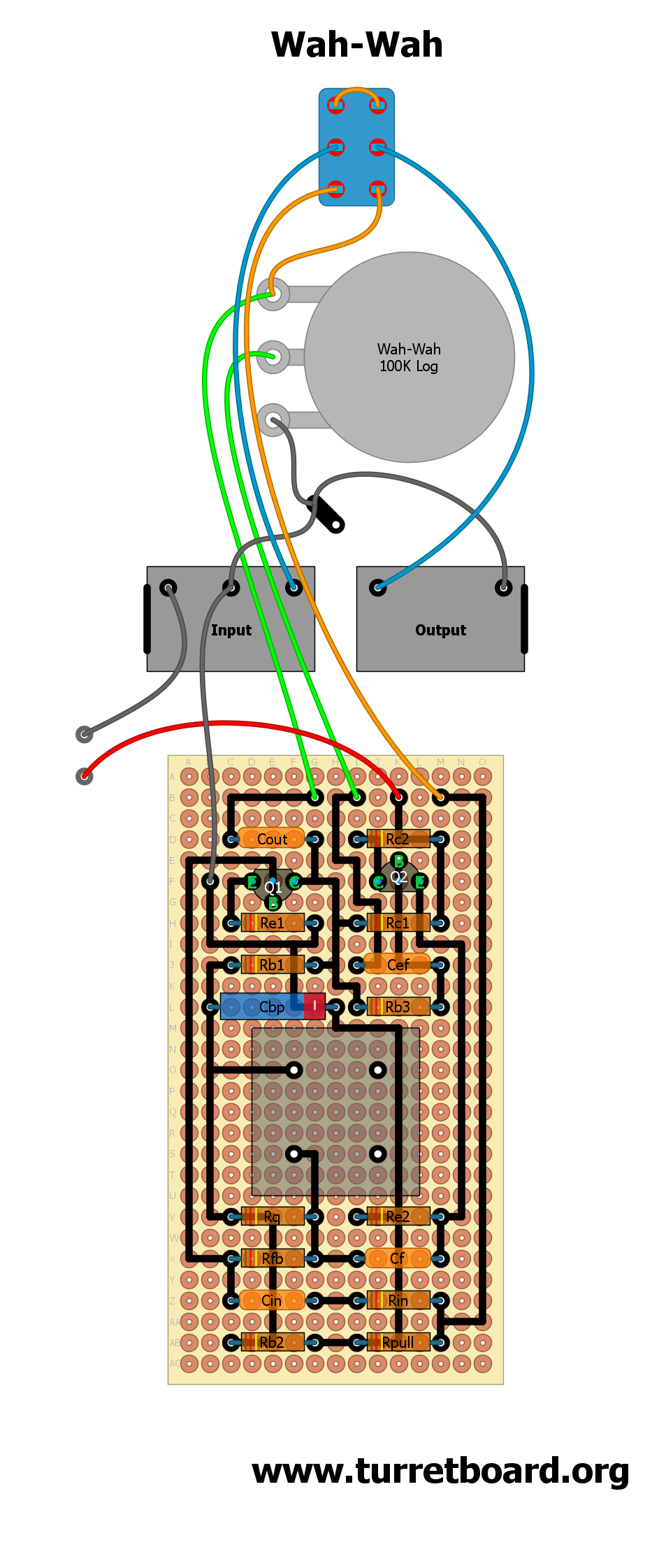 All Projects Page 4 Turretboardorg Wah Schematic In Addition Volume Pedal On Dunlop 01 Pitch Perf